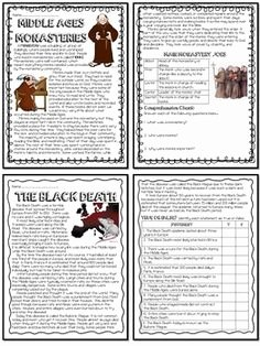 The Dark Ages Video Worksheet Luxury Feudalism In the Middle Ages Worksheet Graphic organizer