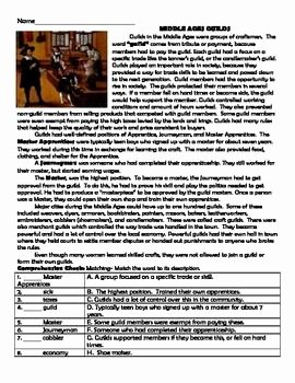 The Dark Ages Video Worksheet New 12 Middle Ages Reading Prehension Bundle Me Val