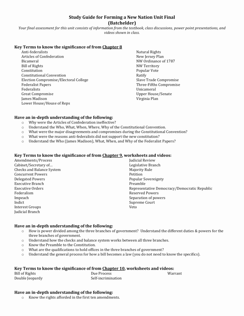 The Electoral Process Worksheet Answers Inspirational the sovereign State Worksheet Answers