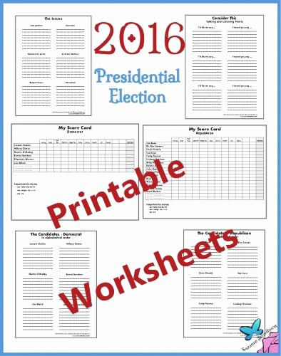 The Electoral Process Worksheet Lovely Printable Decision Making Worksheets 2016 Presidential