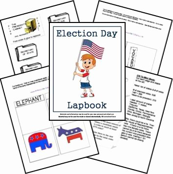 The Electoral Process Worksheet Luxury Free Printable Election Day Lapbook