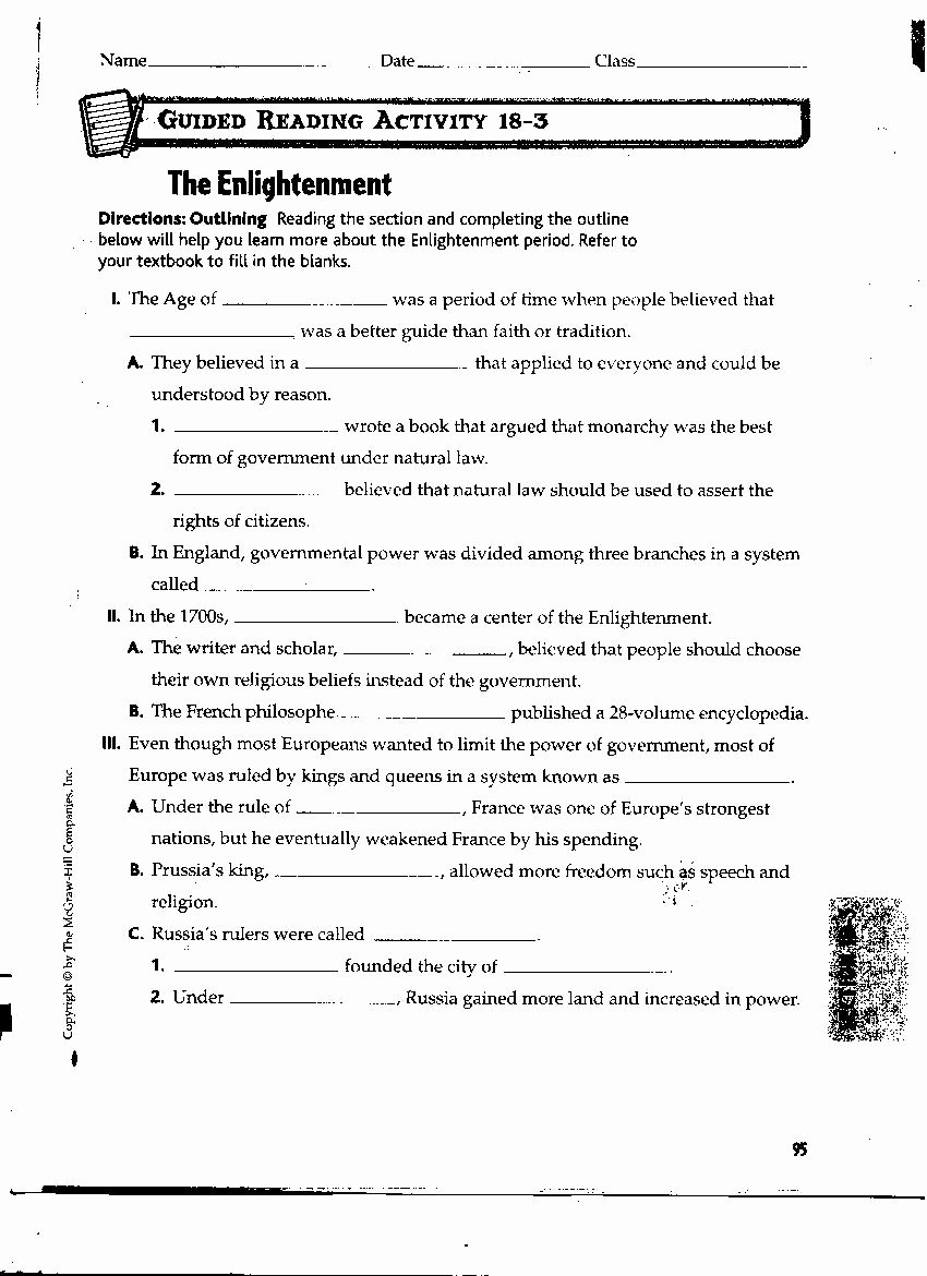 The Enlightenment Worksheet Answers Best Of Worksheet Enlightenment Worksheet Grass Fedjp Worksheet