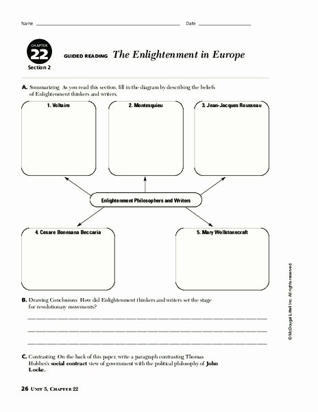 The Enlightenment Worksheet Answers Inspirational Political Philosophy Lesson Plans & Worksheets 289 312