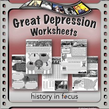 The Great Depression Worksheet Fresh History In Focus Teaching Resources