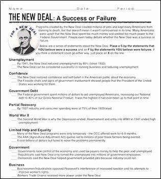 The Great Depression Worksheet Unique the Great Depression Unit New Deal Unit Ppts