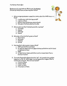 The Martian Movie Worksheet Elegant the Martian 2015 Guided Viewing Movie Guide Worksheet