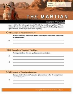 The Martian Movie Worksheet Unique Tsunami School Projects