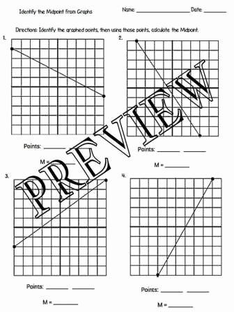 The Midpoint formula Worksheet Best Of the Math Magazine Midpoint formula Worksheets with Answer
