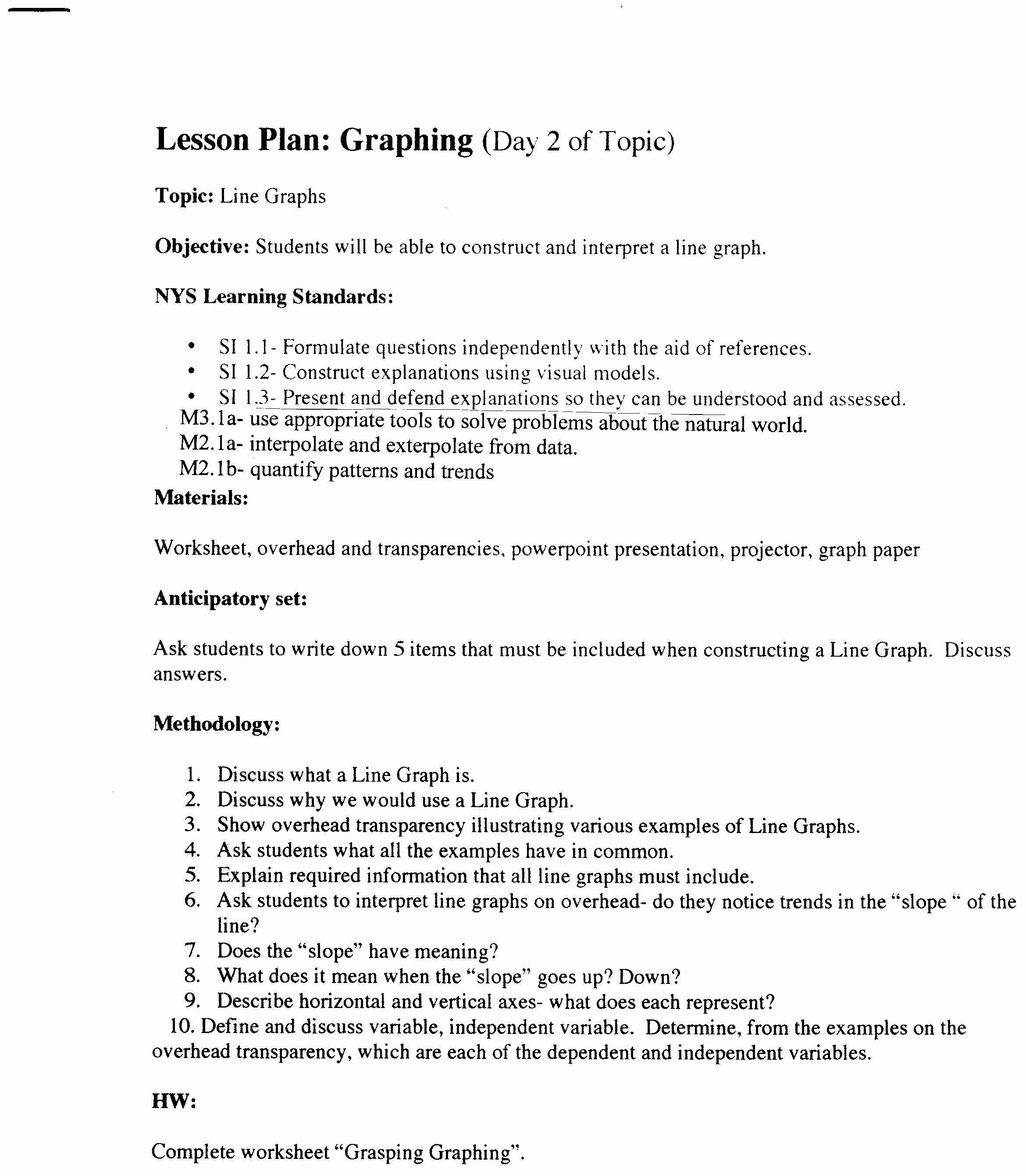 The Nature Of Science Worksheet Luxury Understanding Graphing Worksheet Answer Key
