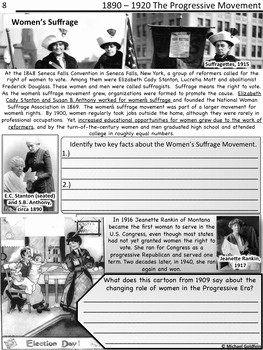 The Progressive Era Worksheet Awesome Progressive Era by History In Focus