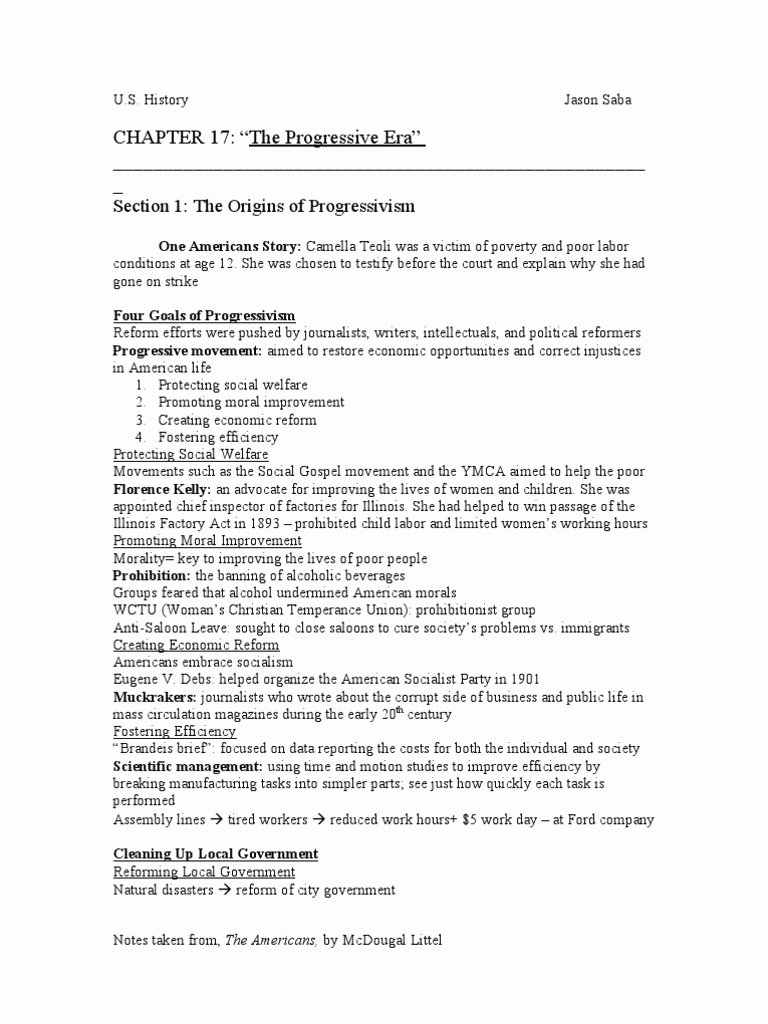 The Progressive Era Worksheet Luxury Chapter 12 Section 1 the Politics Reconstruction