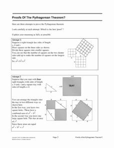 The Pythagorean theorem Worksheet Inspirational Proofs the Pythagorean theorem Worksheet for 8th Grade