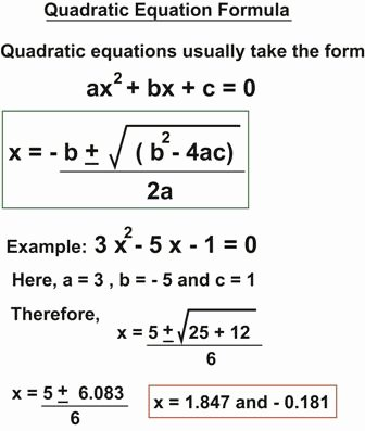 The Quadratic formula Worksheet Beautiful Quadratic formula Worksheet Pdf Breadandhearth