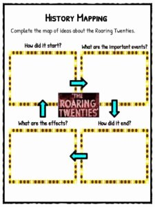 The Roaring Twenties Worksheet Beautiful the Roaring Twenties Facts Worksheets & Historic