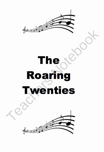 The Roaring Twenties Worksheet New the O Jays Products and the Great Migration On Pinterest