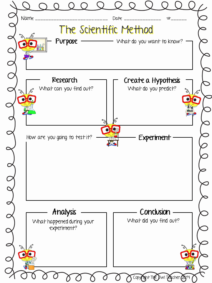 The Scientific Method Worksheet Lovely It S Time to Win