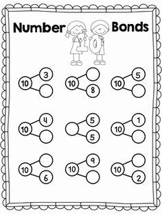 The Story Of Stuff Worksheet Best Of Number Bonds Blank Worksheet School Stuff