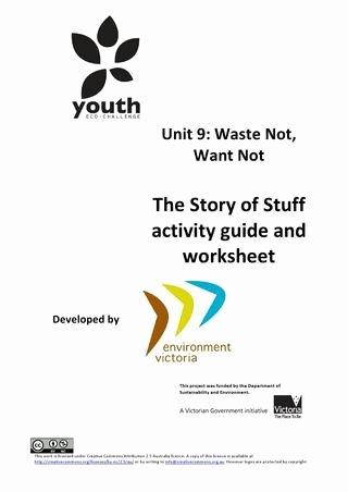 The Story Of Stuff Worksheet Elegant Vcal Unit 9 Story Of Stuff Activity Guide and Worksheet