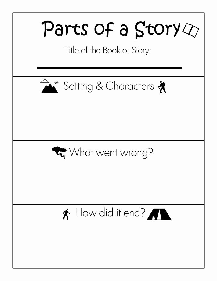 The Story Of Stuff Worksheet Lovely Parts Of A Story Free Printable Worksheet