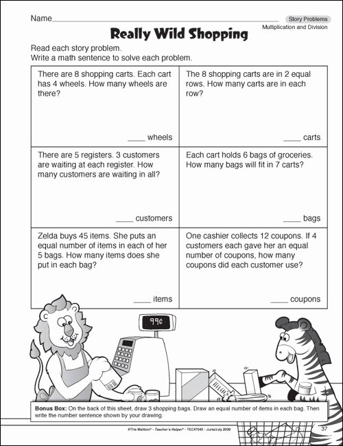 The Story Of Stuff Worksheet New Math Worksheets for 3rd Graders