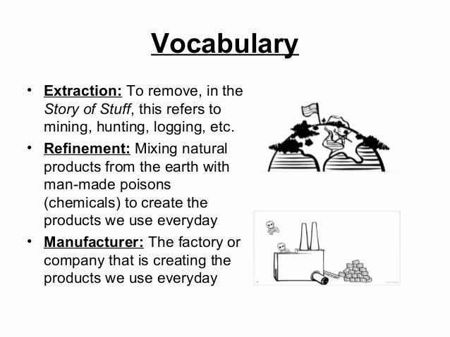 The Story Of Stuff Worksheet New the Story Of Stuff