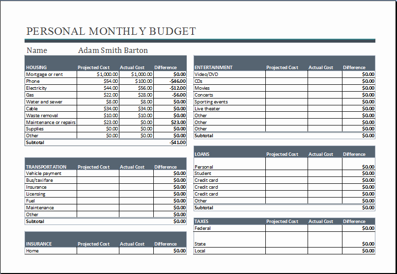 The Student Budget Worksheet Answers Lovely 20 Editable Worksheet Templates for Everyone S Use