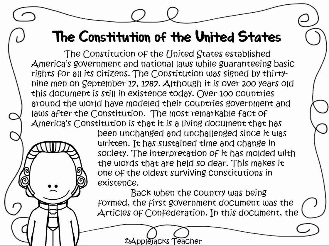The Us Constitution Worksheet Fresh 13 Best Of 4th Amendment Worksheets and 5 and 6