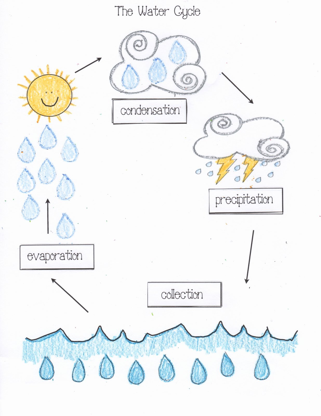 The Water Cycle Worksheet Answers Fresh Water Cycle Activities Classroom Freebies