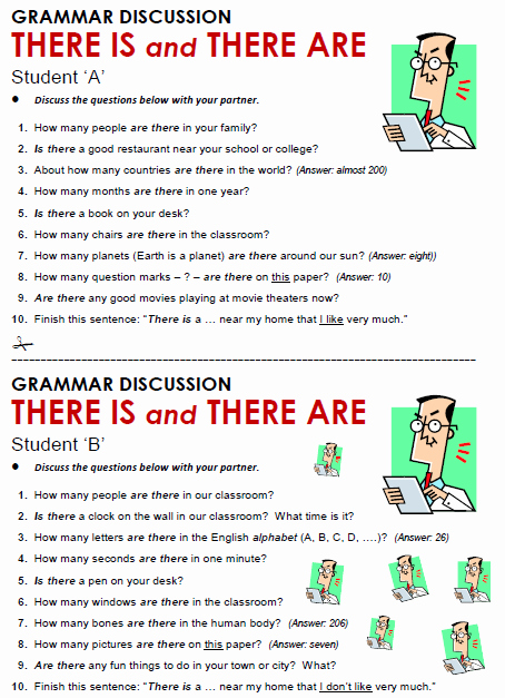 There is there are Worksheet Best Of there is there are All Things Grammar
