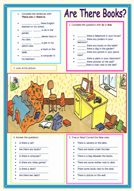 There is there are Worksheet Lovely there is there are Elementary Worksheet