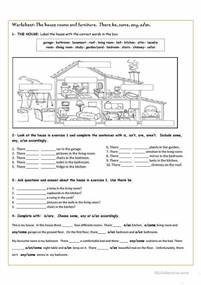 There is there are Worksheet Luxury there is or there are Worksheet Free Esl Printable