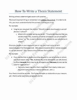 Thesis Statement Practice Worksheet Beautiful thesis Statement Throwdown