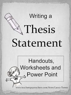 Thesis Statement Practice Worksheet Best Of thesis Statement Middle School thesis Statement Outline