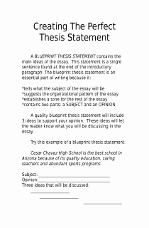 Thesis Statement Practice Worksheet Lovely Creating A thesis Statement