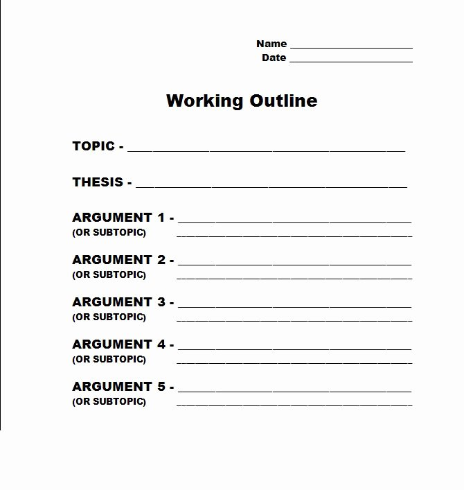 Thesis Statement Practice Worksheet New Narrative Essay Outline Write My Custom Paper