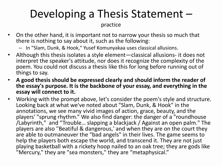 Thesis Statement Practice Worksheet Unique Practice Writing thesis Statements Answers Csusm X Fc2