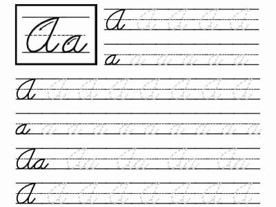 Third Grade Writing Worksheet Beautiful 4th Grade Cursive Writing Worksheetshandwriting