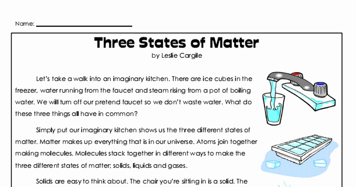 Three States Of Matter Worksheet Beautiful Three States Of Matter Worksheet Pdf Google Drive