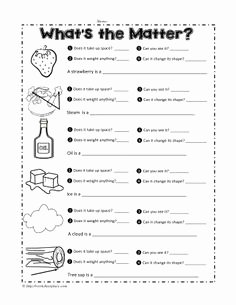 Three States Of Matter Worksheet Best Of Properties Of Matter Worksheet 1