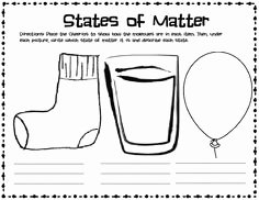 Three States Of Matter Worksheet Elegant Three States Of Matter
