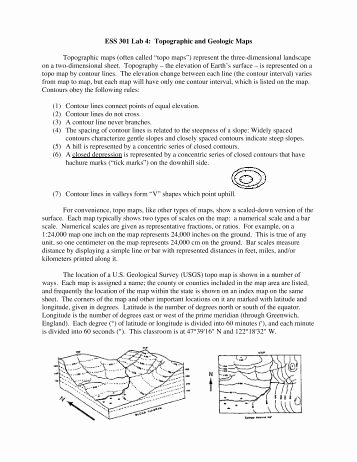 Topographic Map Reading Worksheet Answers Best Of Reading topographic Maps Worksheet