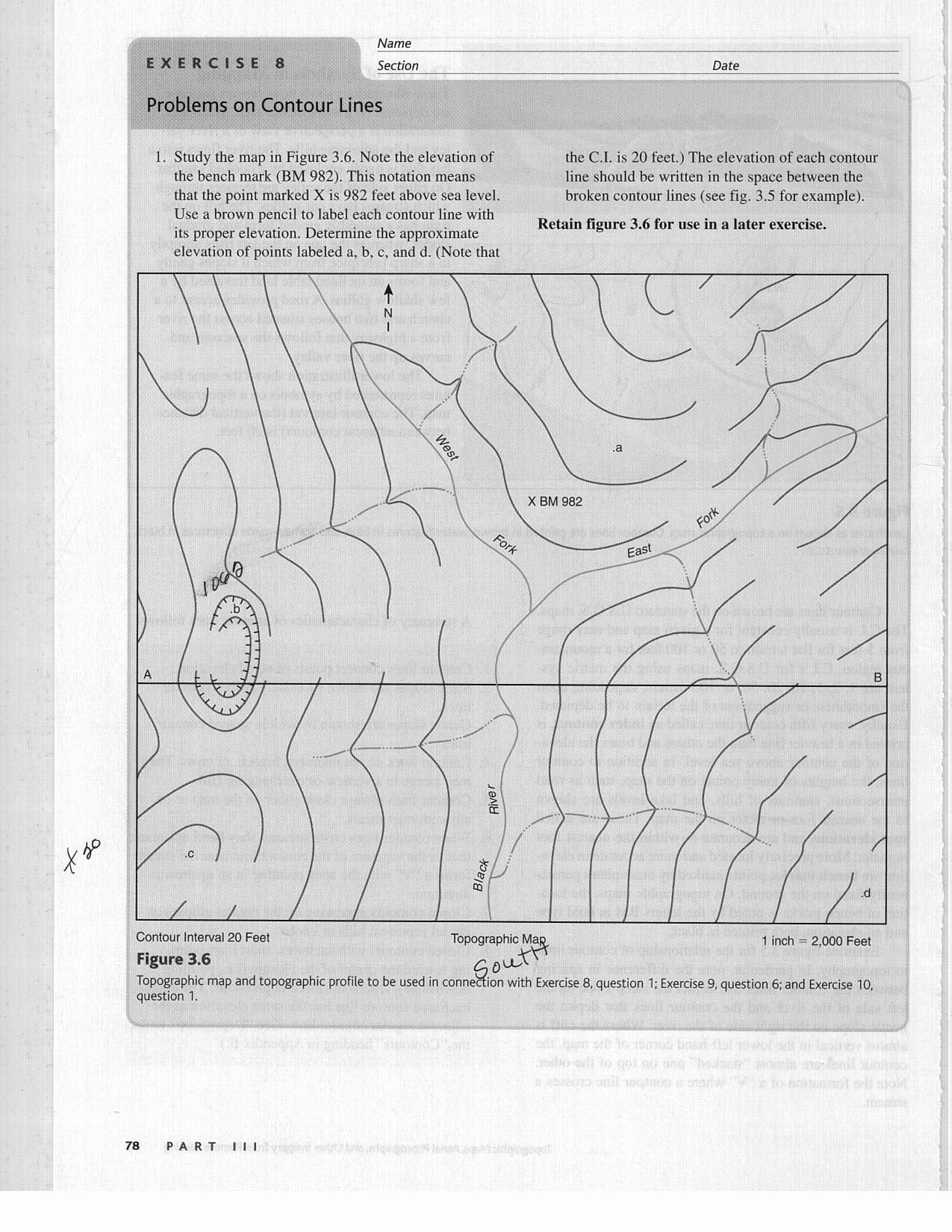 Topographic Map Reading Worksheet Inspirational Can You Help with This assignment It is Due Sunday 12 Am
