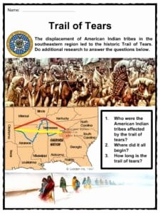 Trail Of Tears Worksheet Awesome Oklahoma Facts Worksheets & State Historical Information