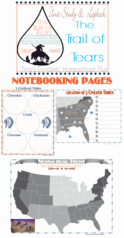 Trail Of Tears Worksheet Inspirational Free Trail Of Tears Notebooking Pages