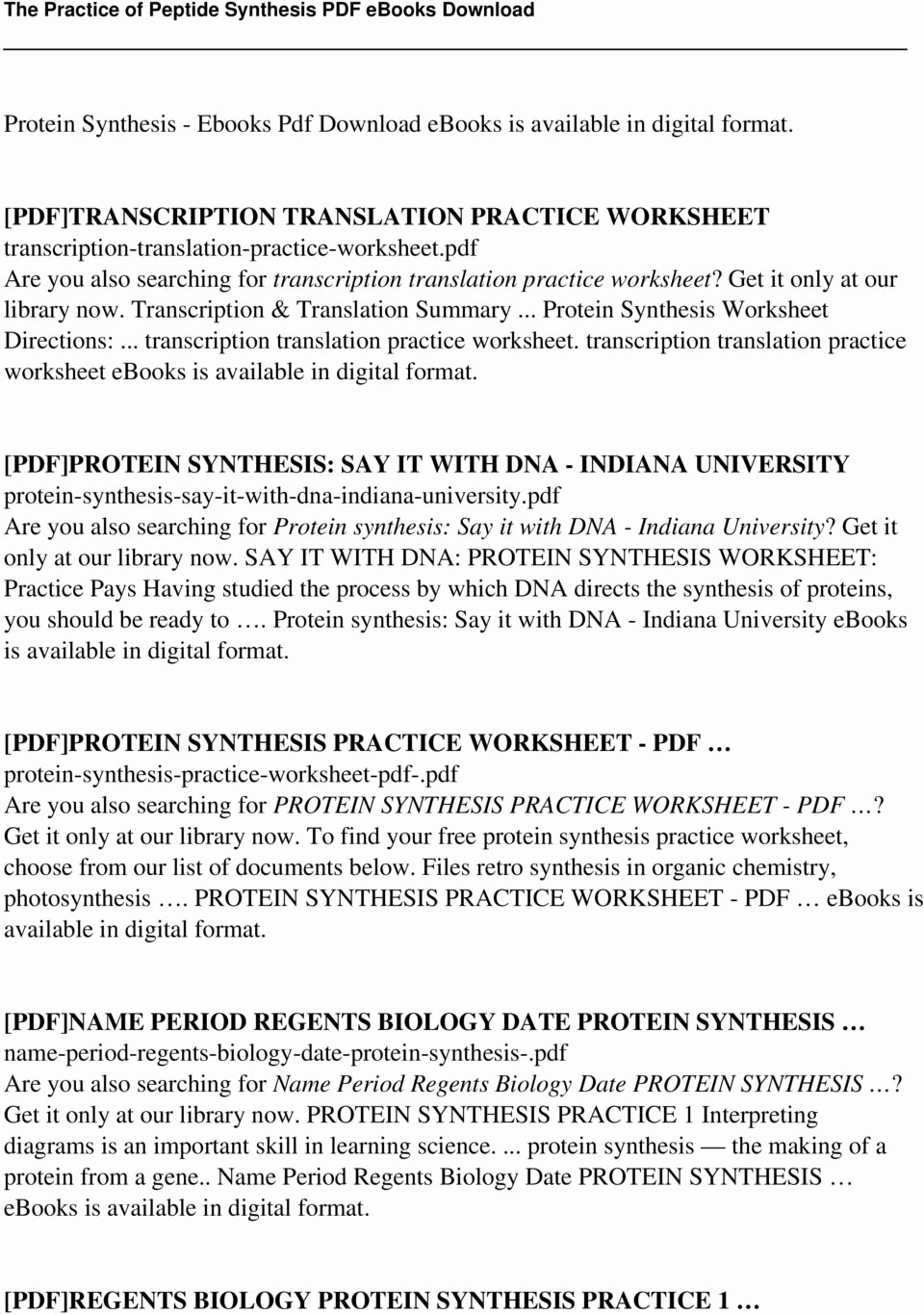 Transcription and Translation Practice Worksheet Luxury Transcription and Translation Practice Worksheet Answers