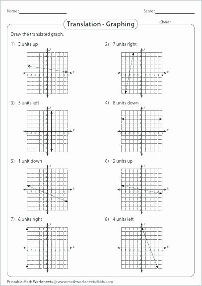 Transformations Of Quadratic Functions Worksheet Beautiful Worksheet Transformations Quadratic Functions