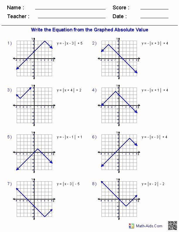Transformations Of Quadratic Functions Worksheet Lovely Function Transformations Worksheet