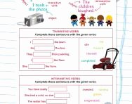 Transitive and Intransitive Verb Worksheet Inspirational What are Transitive and Intransitive Verbs