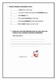 Transitive and Intransitive Verbs Worksheet Lovely Best 20 Intransitive Verb Ideas On Pinterest