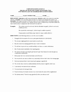 Transitive and Intransitive Verbs Worksheet New Adjectives and Adverbs with Transitive and Intransitive